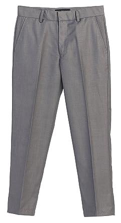 Amazon.com: Gioberti Kids Boys Flat Front Adjustable Waist Dress ...