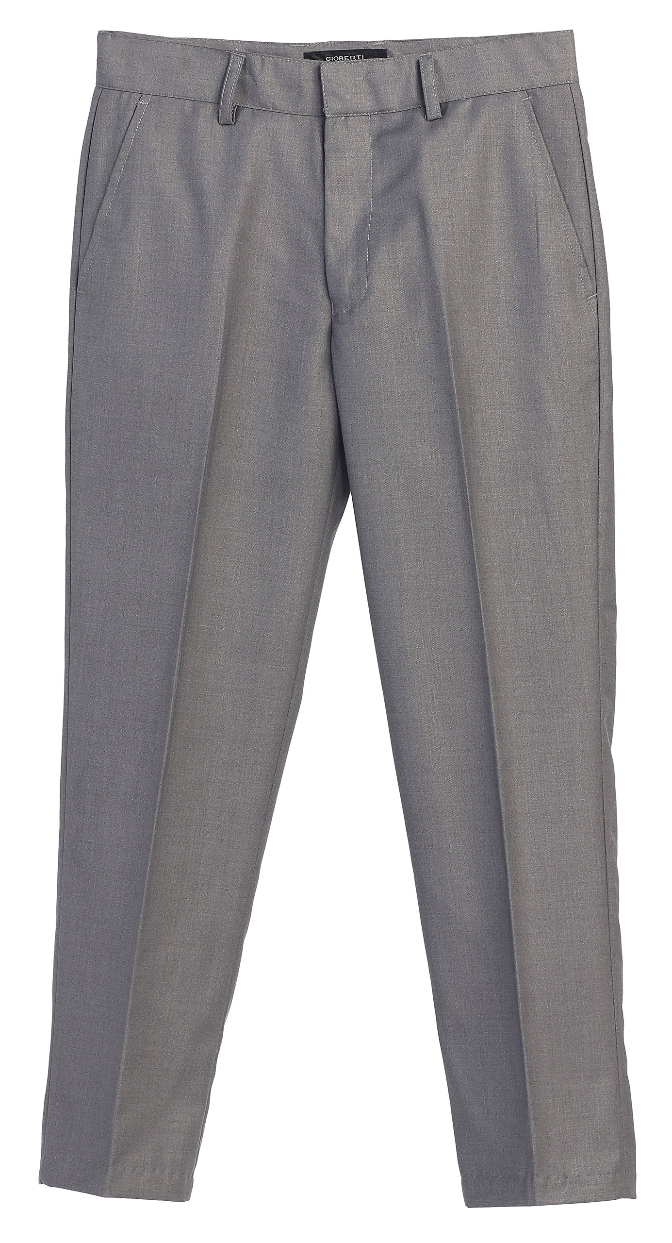 2 Piece Kids Boys Gray Vest and Pants Formal Set, 4T by Gioberti (Image #2)