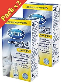 OPTONE ACTIMIST 2 en1 Solution OCULAIRE Yeux Irrités - Lot de 2 x 10ml YI bd7b4e16e2ba