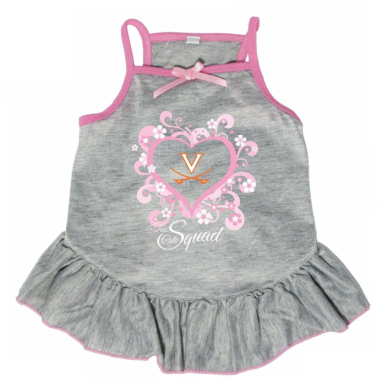 Hunter 4239-44-5300 NCAA Virginia University Too Cute Pet Dress, X-Large