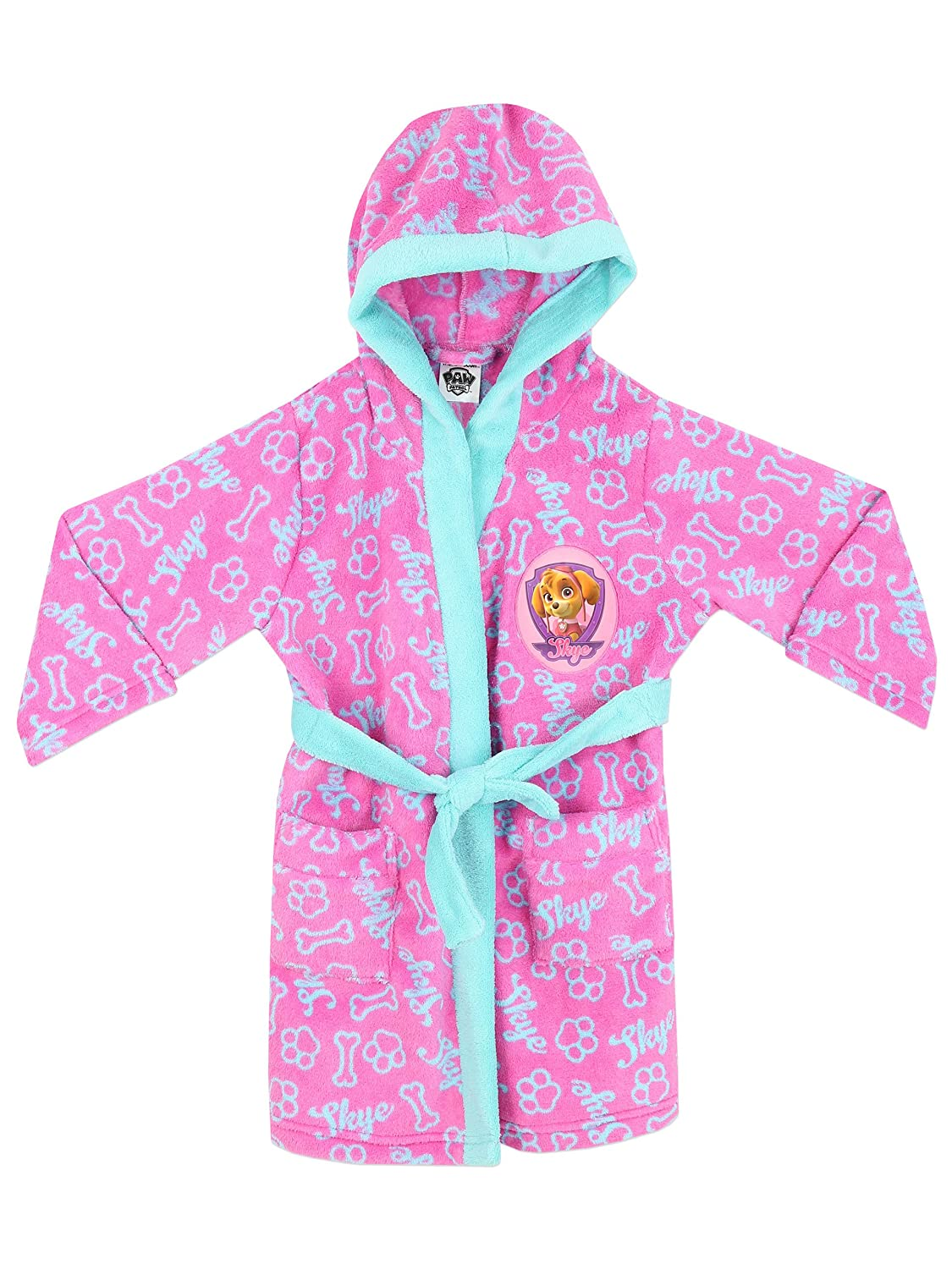 Paw Patrol Girls Skye Dressing Gown Ages 18 Months to 6 Years ...