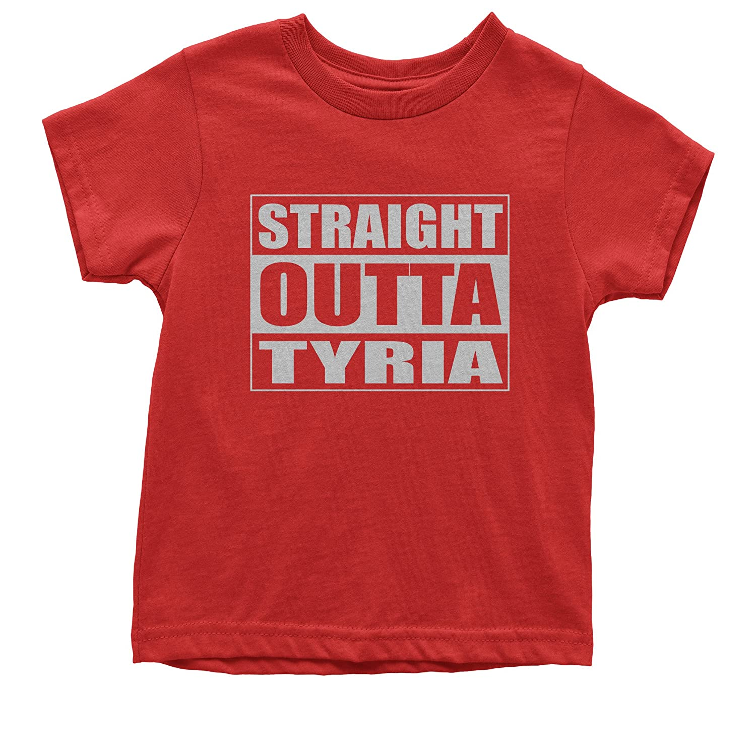 FerociTees Straight Outta Tyria Gamer Youth T-Shirt