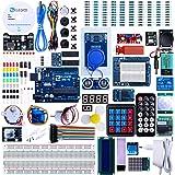 Elegoo Progetto Arduino Scheda UNO R3 Starter Kit Piu Completo per Principianti con Tutorial in Italiano Learing Kit di Apprendimento (63 Articoli)