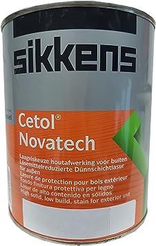 Sikkens Cetol Novatech fina capa de barniz High Solid 1,000 L