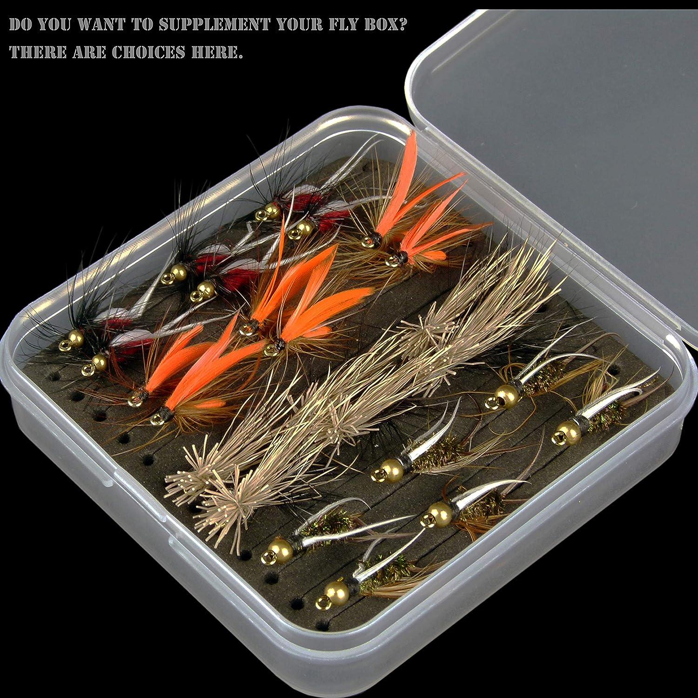 買い保障できる yazhida Fly 12pcs濡れFlies/ 12個Flies Fly Fishing B07C6PTWZ6 FliesキットBass Trouts Salmon Trouts Flies -6pcs各色の B07C6PTWZ6, ショップ村上:d6c63fa2 --- sabinosports.com