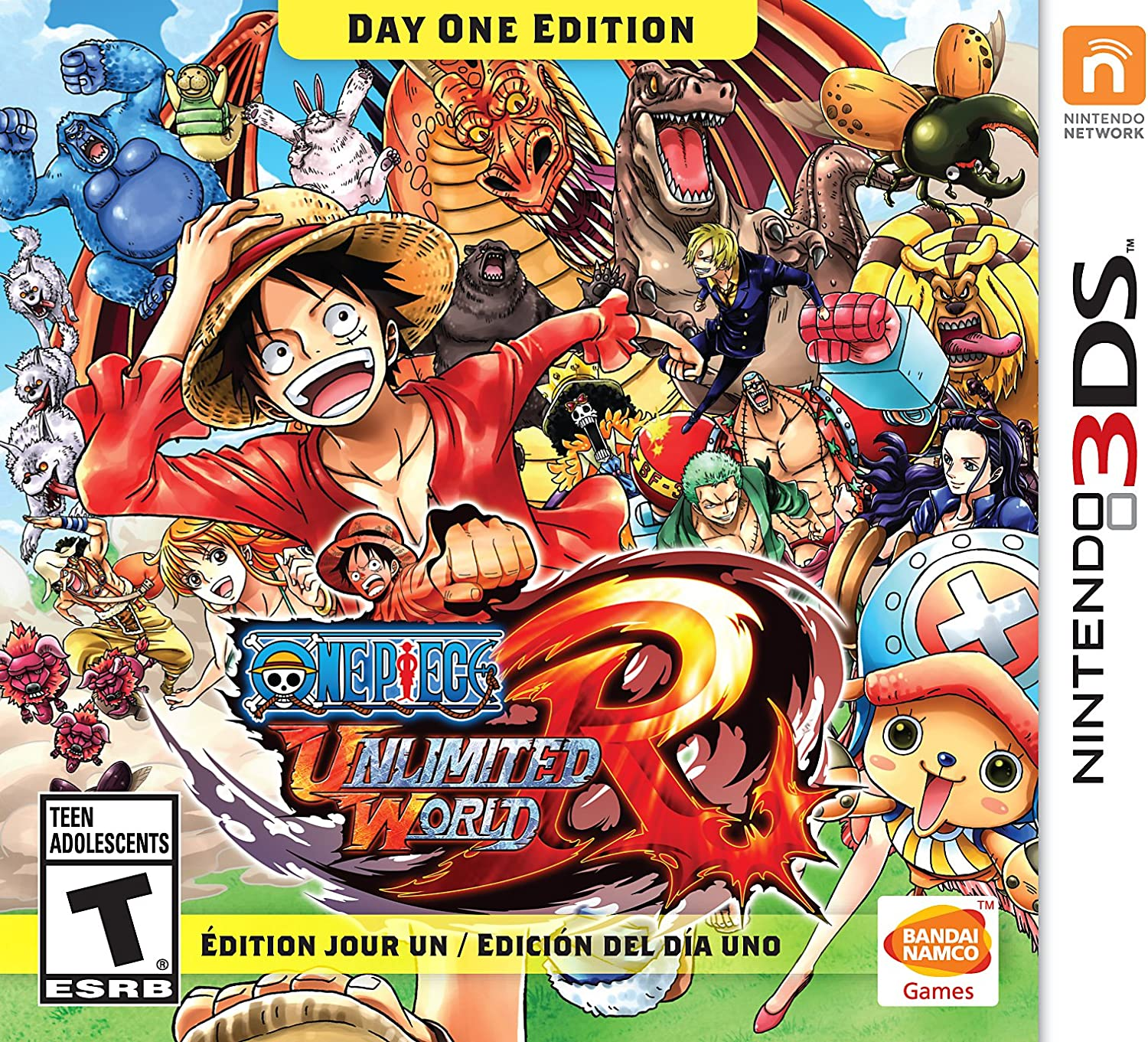 Amazon One Piece Unlimited World Day Edition