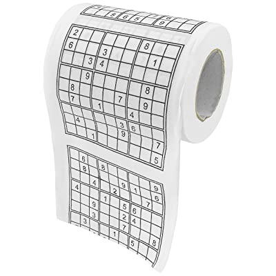 Fairly Odd Novelties Sudoku Puzzle Game Roll Novelty Toilet Paper: Home & Kitchen