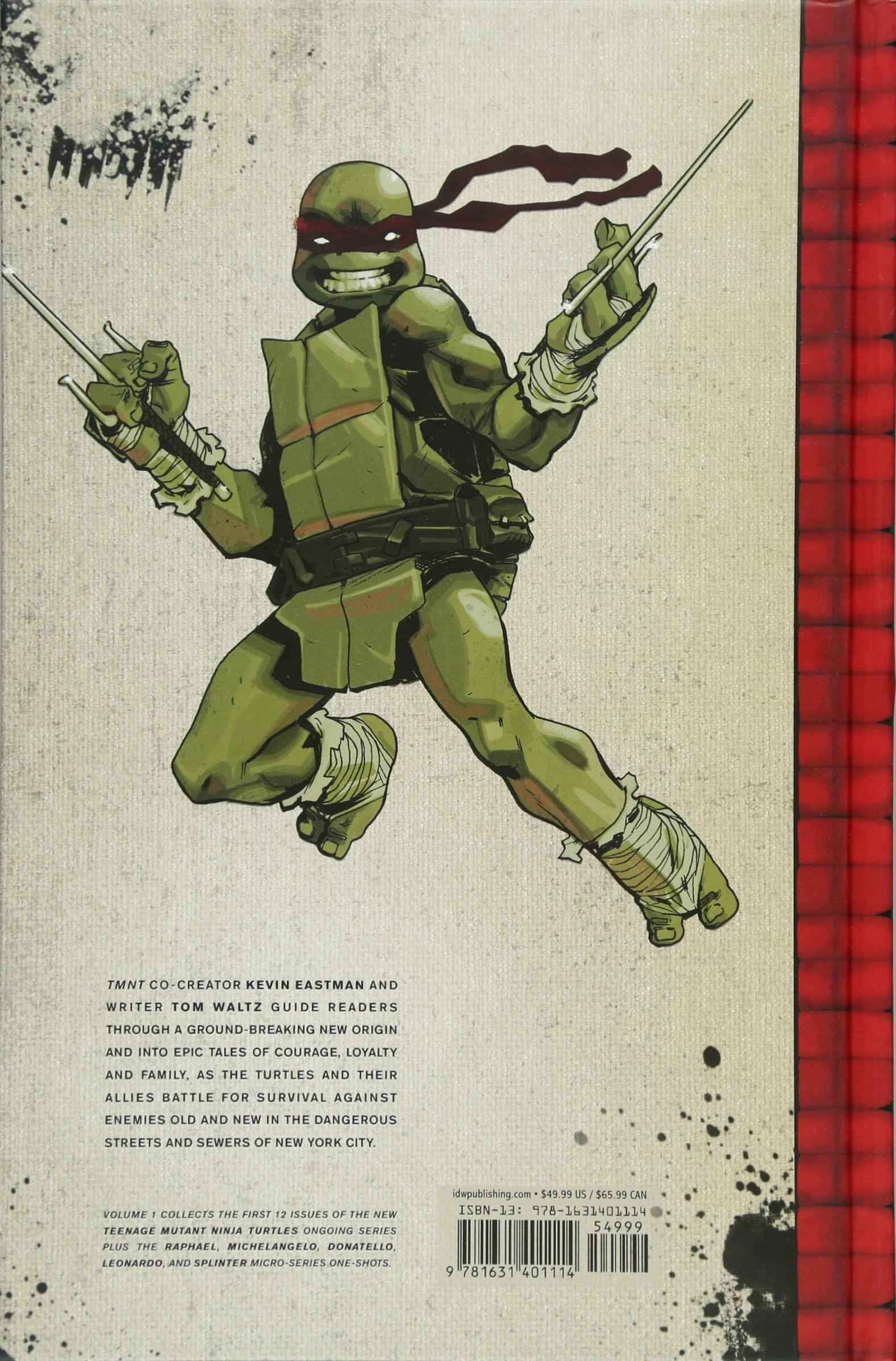 Teenage Mutant Ninja Turtles: The IDW Collection Volume 1 ...