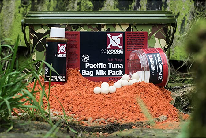 CCMoore Bouillettes Pacific Tuna Bag Mix Pack Bucket