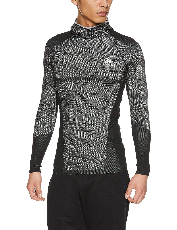 Odlo Herren Suw Top with Facemask L S Performance schwarzcomb Shirt