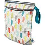 Planet Wise Wet/Dry Diaper Tote Bag, Quill