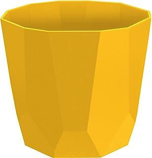 Elho b for soft round flowerpot 18cm magical green amazon elho b for rock flowerpot 16cm ochre mightylinksfo