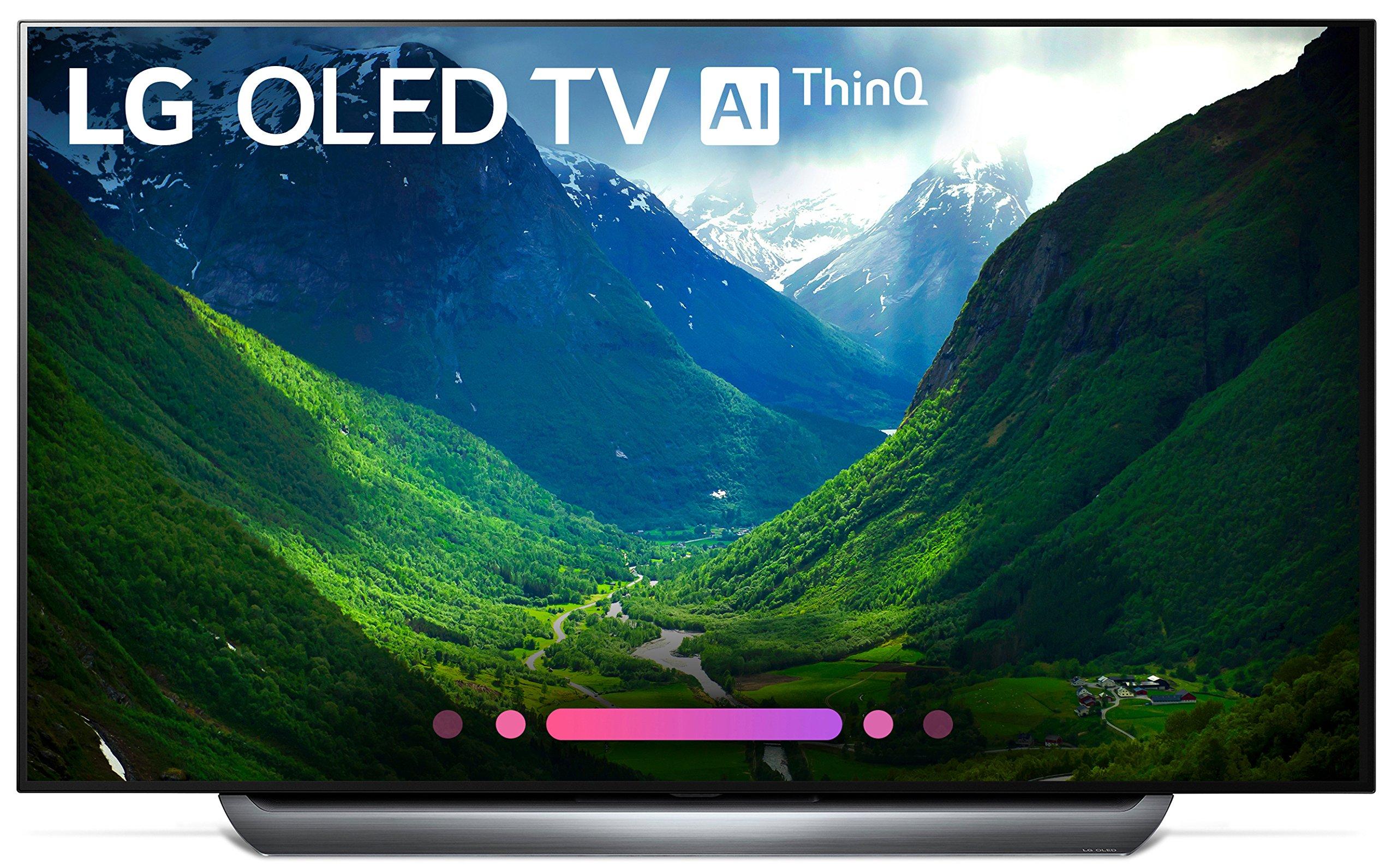 LG Electronics OLED65C8PUA 65-Inch 4K Ultra HD Smart OLED TV (2018 Model) by LG