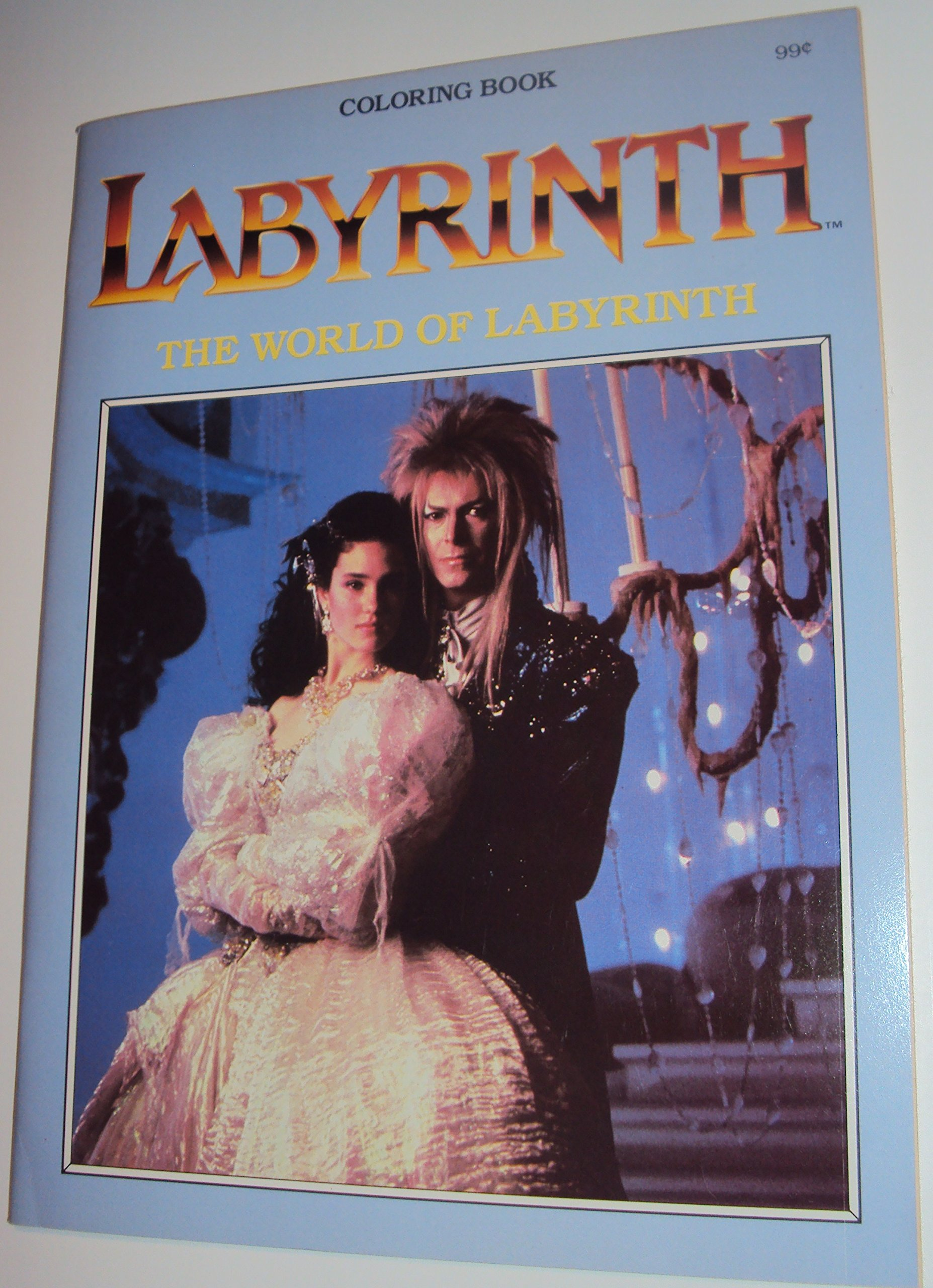 labyrinth the world of labyrinth coloring book henson associates marvel associates 0791043555915 amazoncom books