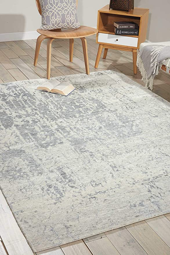 Amazon Com Nourison Silk Shadows Sterl Rectangle Area Rug 9 Feet 9 Inches By 13 Feet 9 Inches 9 9 X 13 9 Furniture Decor