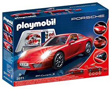 ed933f46e030 Playmobil- Carrera S Coche Vehículos Porsche 911