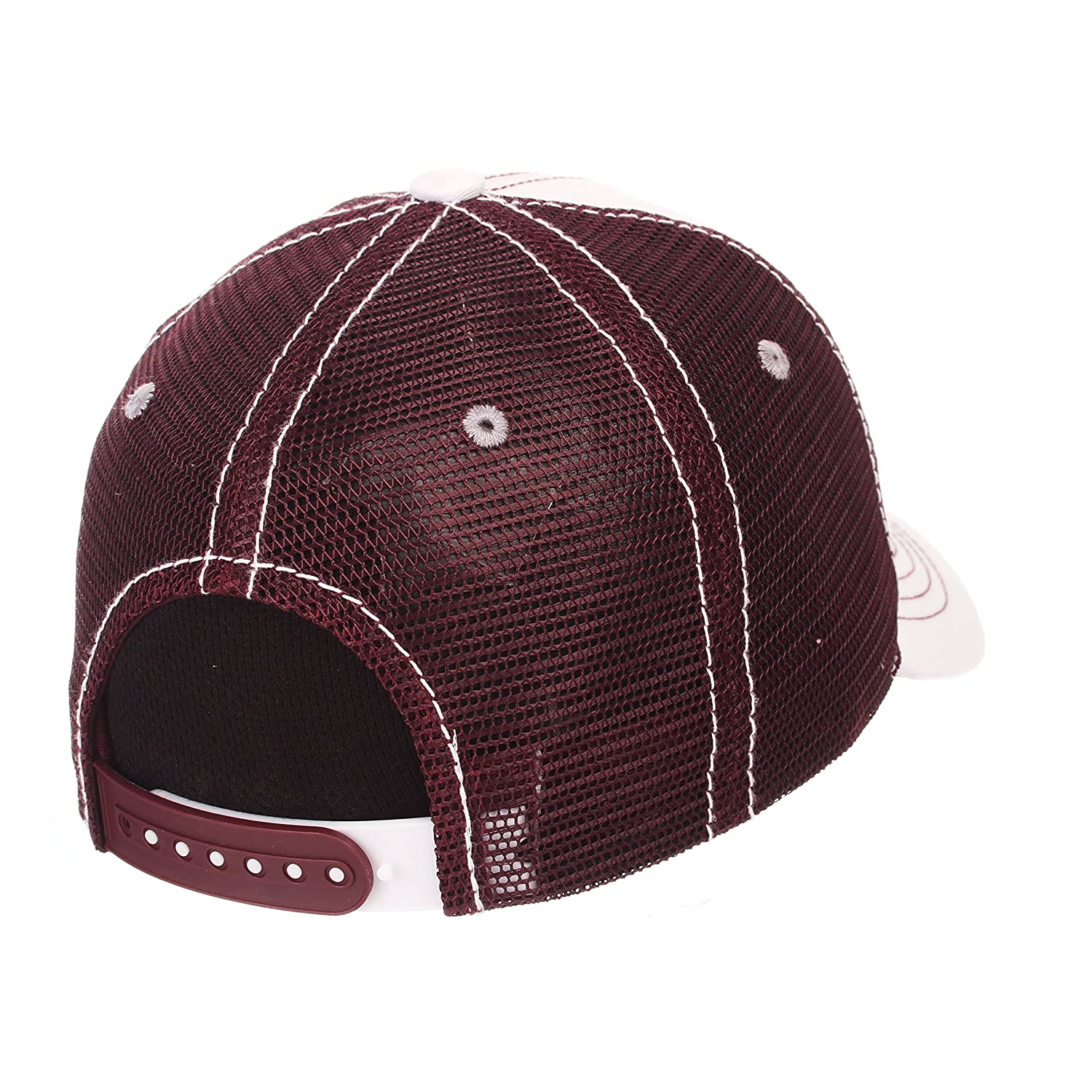 079aeb8addf Amazon.com   Zephyr Men s Mississippi State Bulldogs WHITEBOARD Adjustable  HAT   Sports   Outdoors