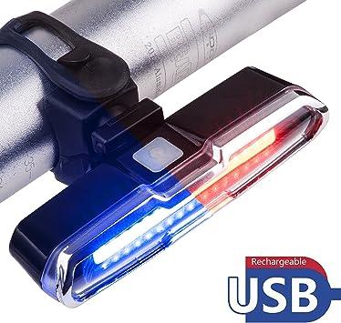 Luces de LED para-bicicletas accesorios bicicletas.USB recargableimpermeable