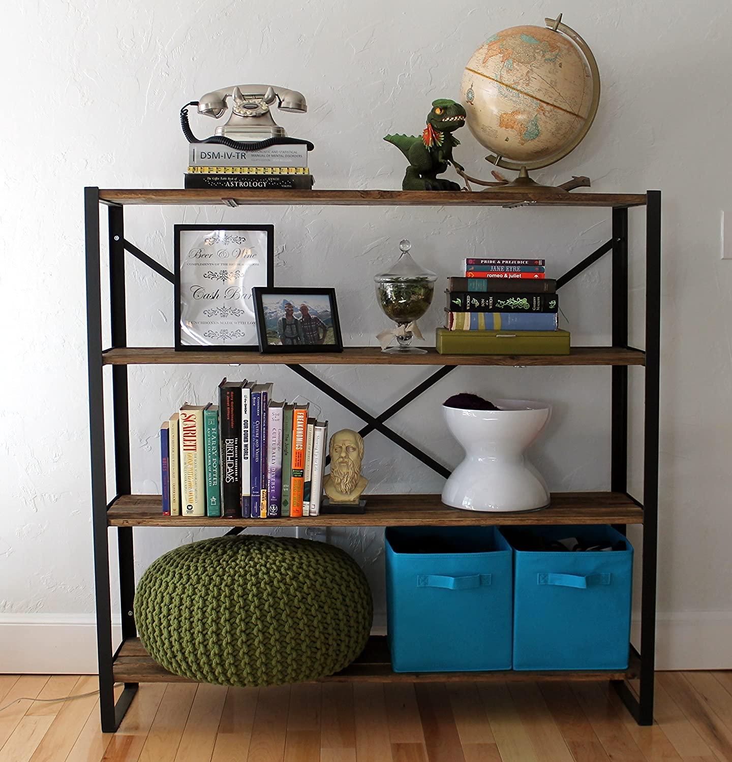 Reclaimed Wood Bookcase -