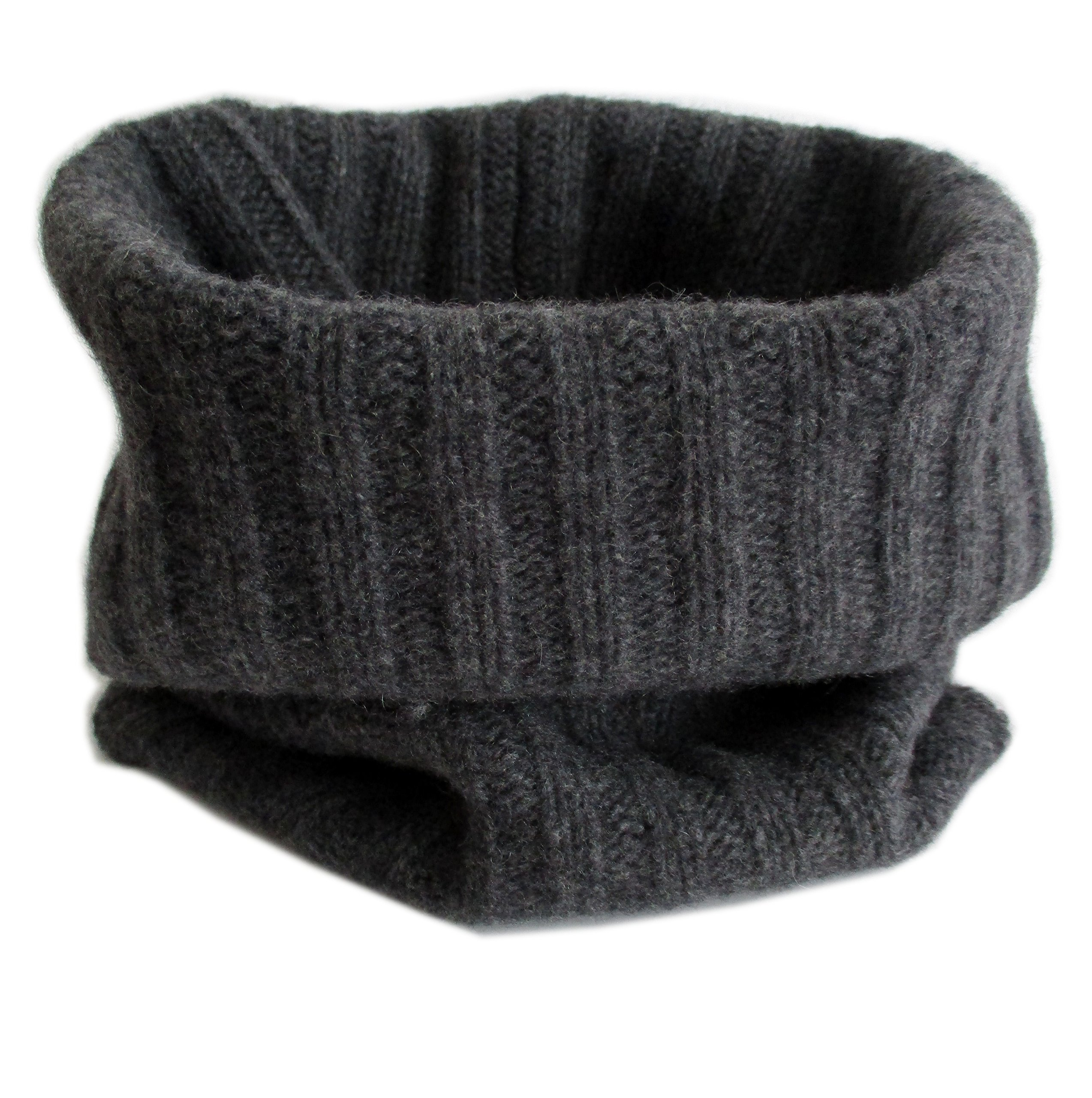 Frost Hats Cashmere Neck Warmer CSH-892 Charcoal