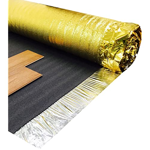 45m2 Deal   Royale Sonic Gold 5mm   Acoustic Underlay For Wood Or Laminate