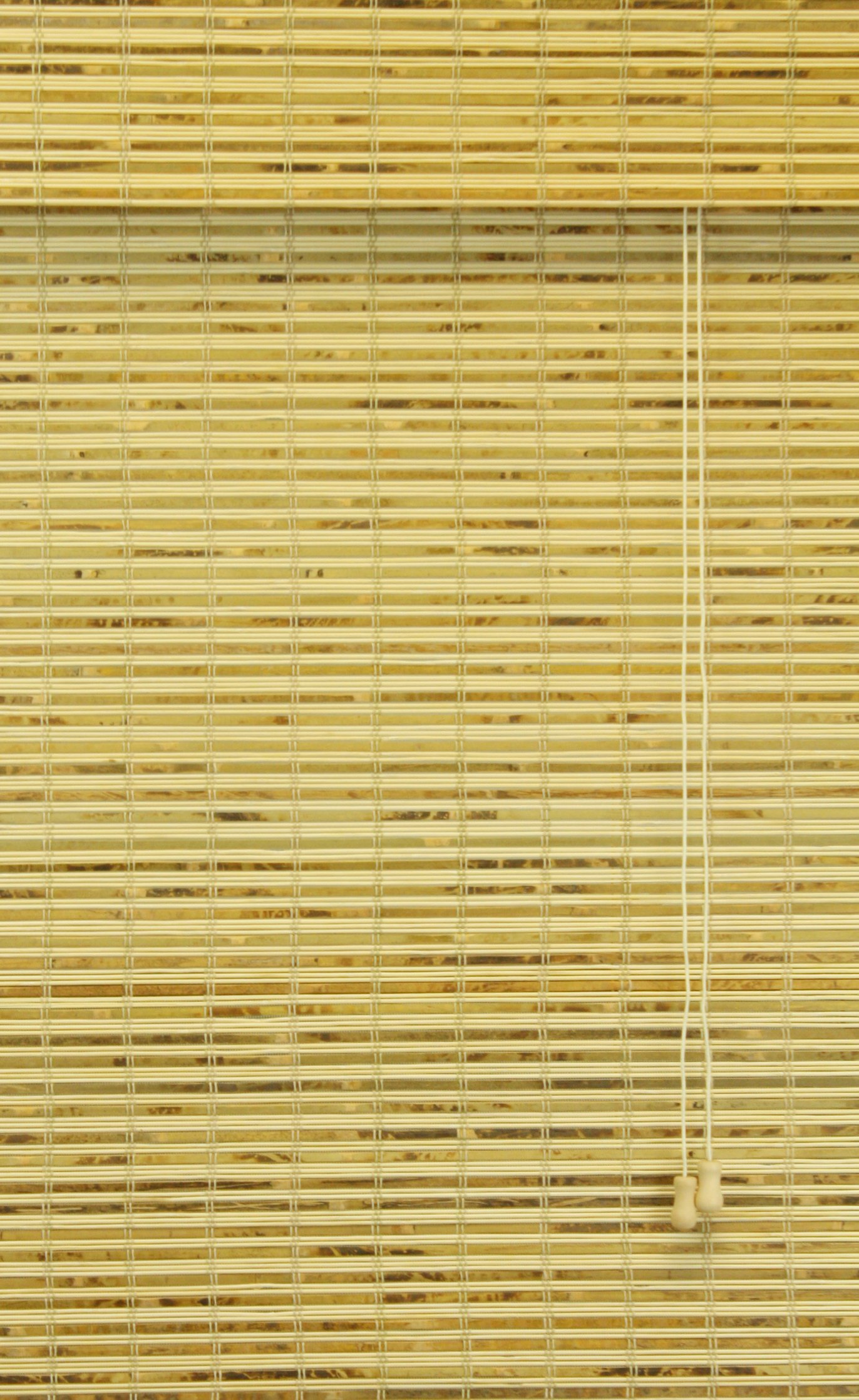 Calyx Interiors Bamboo Roman Shade, 74-Inch Width by 74-Inch Height, Petite Rustic
