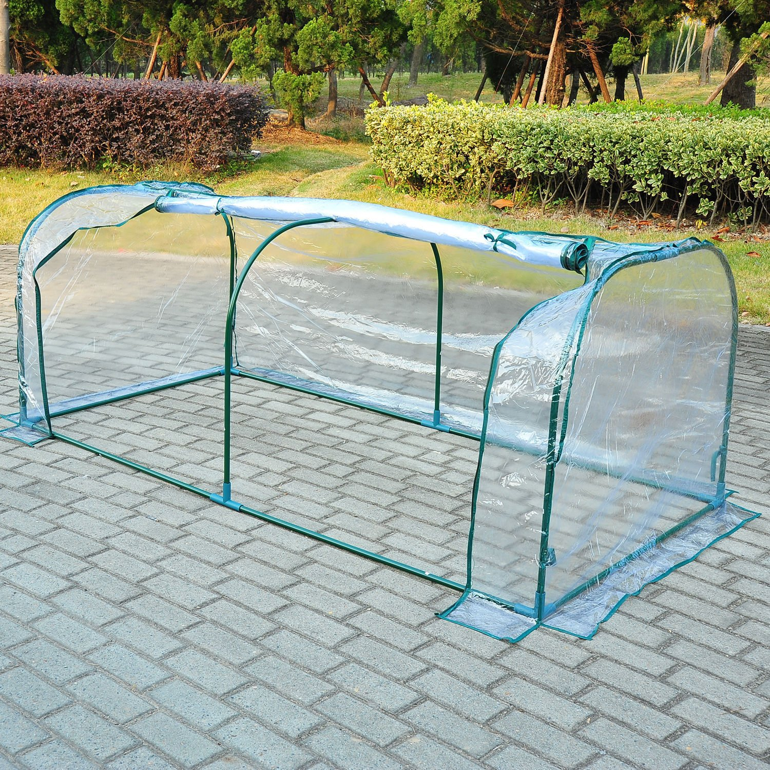 totoshop 7'x3'x3' Greenhouse Mini Portable Gardening Flower Plants Yard Hot House Tunnel
