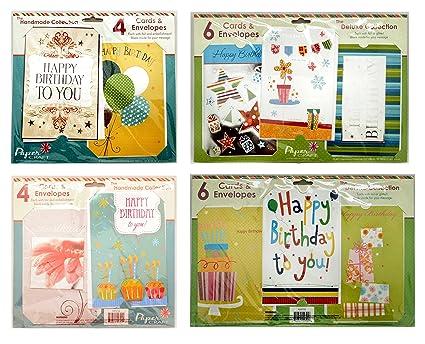 Amazon Papercraft Birthday 1 Embellished Greeting Card Bundle