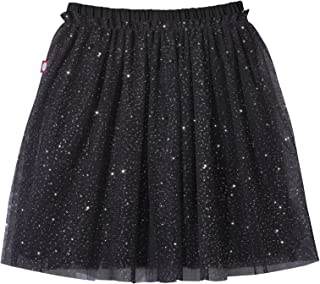 product image for City Threads Girls Sparkly Tutu with Full Cotton Lining and Sparkles for Dance Ballet Tulle Skirt, Made in USA