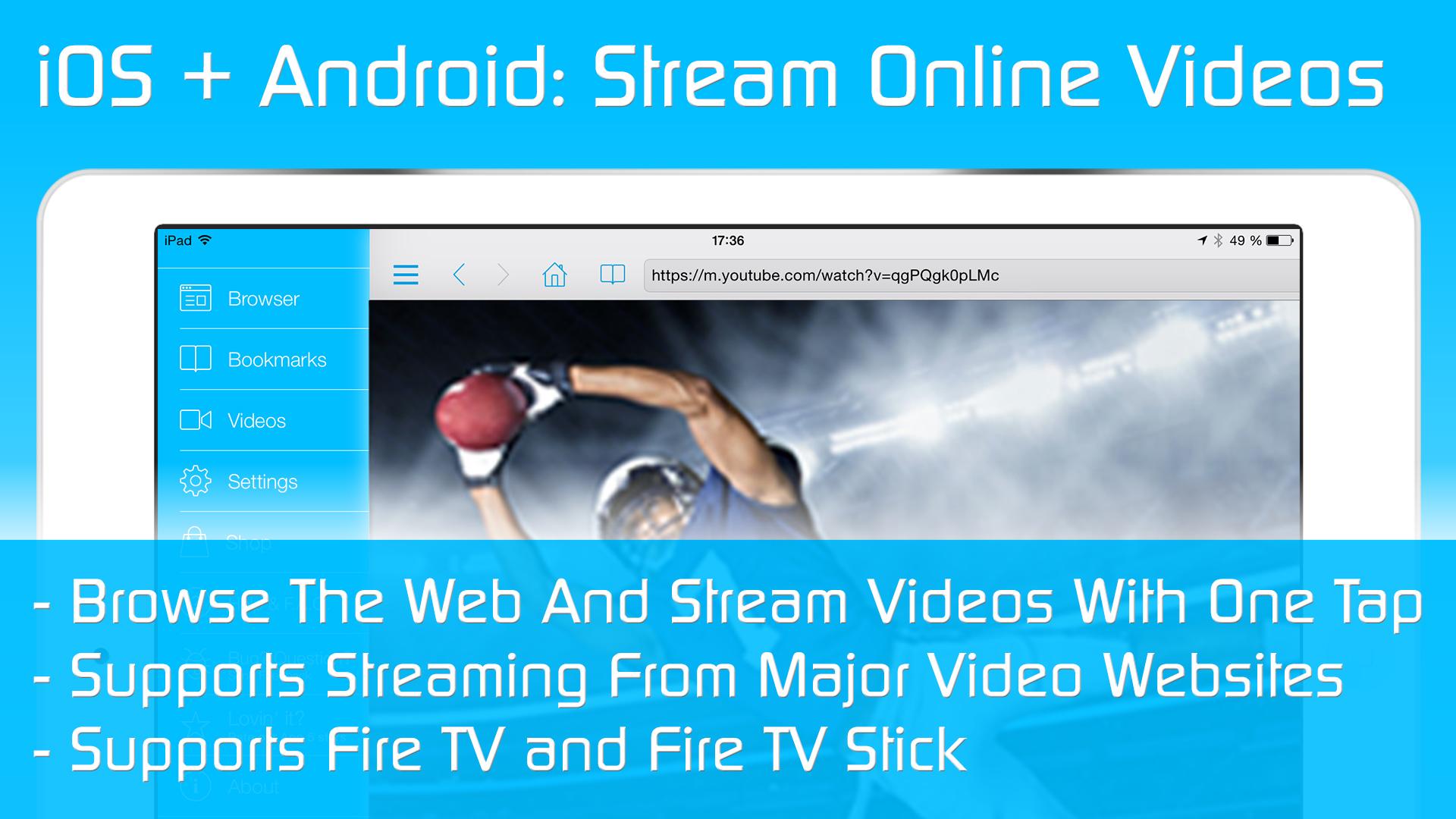 video tv cast for fire tv best browser to. Black Bedroom Furniture Sets. Home Design Ideas