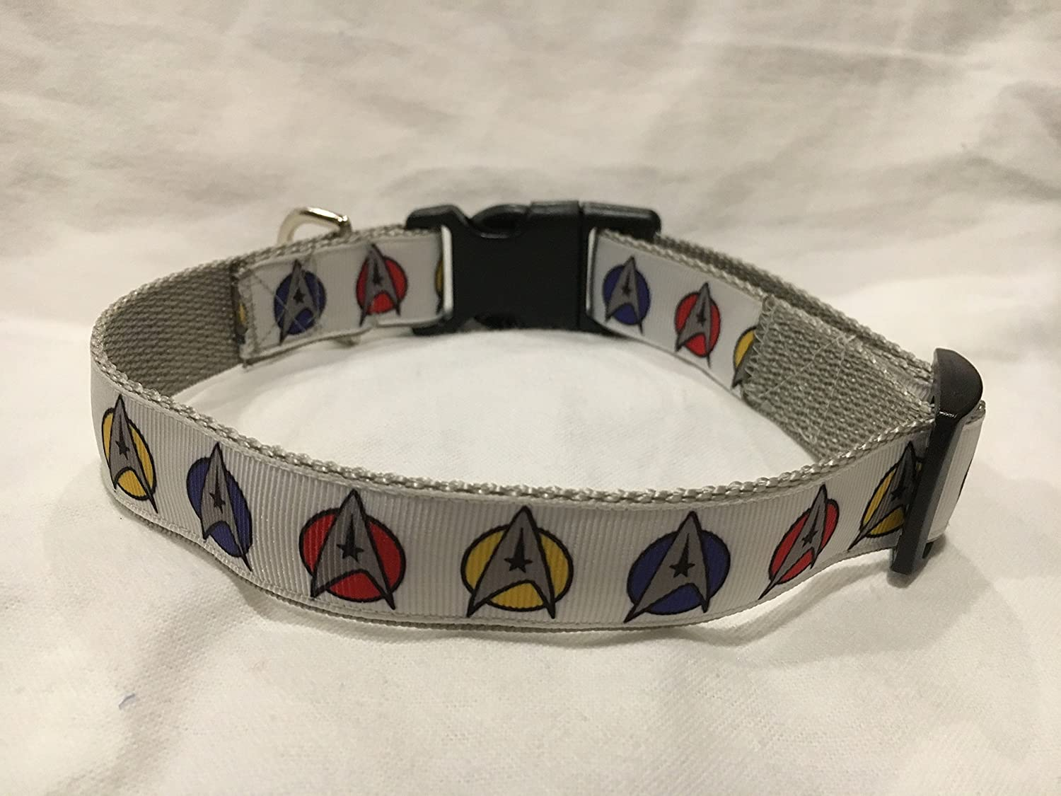 Star Trek Dog Collar, Puppy Collar, Custom Dog Collar, Personalized Dog Collar, Star Trek Gifts