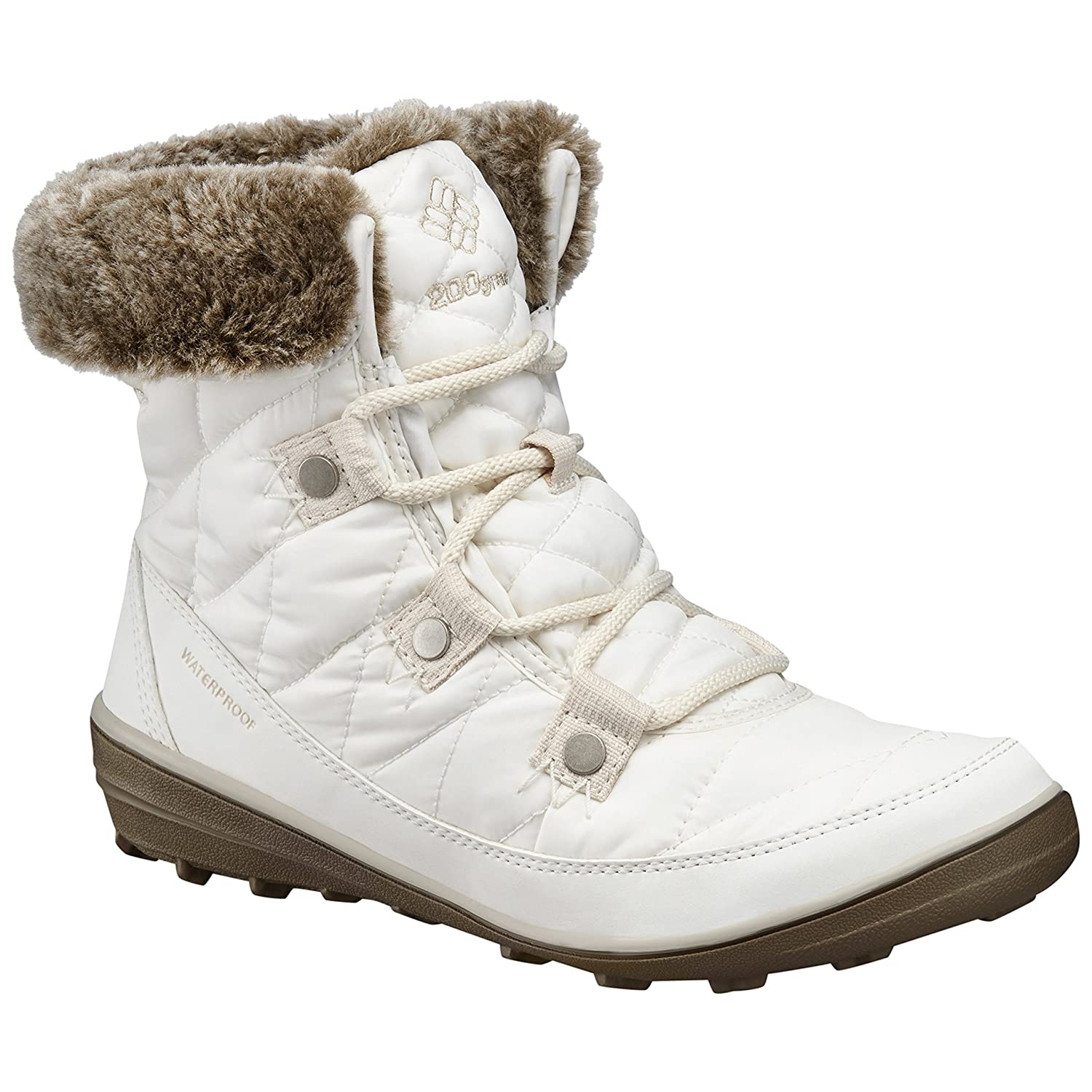 Columbia Women's Heavenly Shorty Omni-Heat Boot B0183M2RFC 8.5 B(M) US|Sea Salt/Fawn