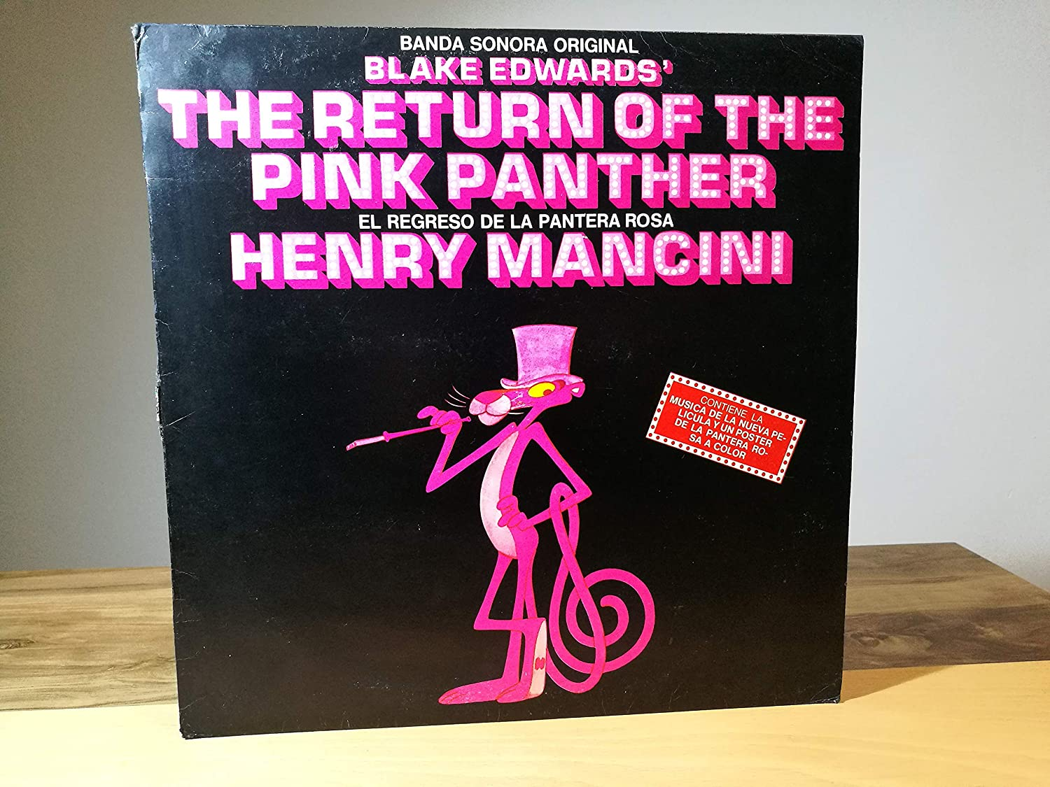 Henry Mancini The Return Of The Pink Panther (Banda Sonora ...