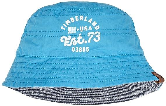 38fcc519b830 Timberland Reversible Bucket Hat, Bonnet Bébé garçon, Bleu, XS ...