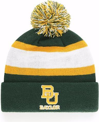 NCAA Baylor Bears Mens Stitch Hat Team Color Medium//Large