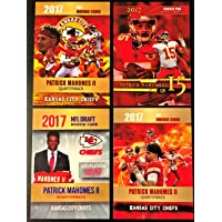 $24 » 2017 PATRICK MAHOMES II Rookie Card Lot - Four Custom Pat Mahomes Rookie Cards (Limited…