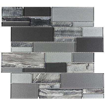 Amazon.com: MTO0238   Clic Uniform Squares Black Grey White Gl ... on