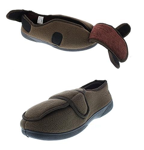 f80ad2486b8c0 Gold Toe Jude Mens House Shoes Diabetes,Men's Orthopedic Edema  Slipper,Eldery Houseshoes,