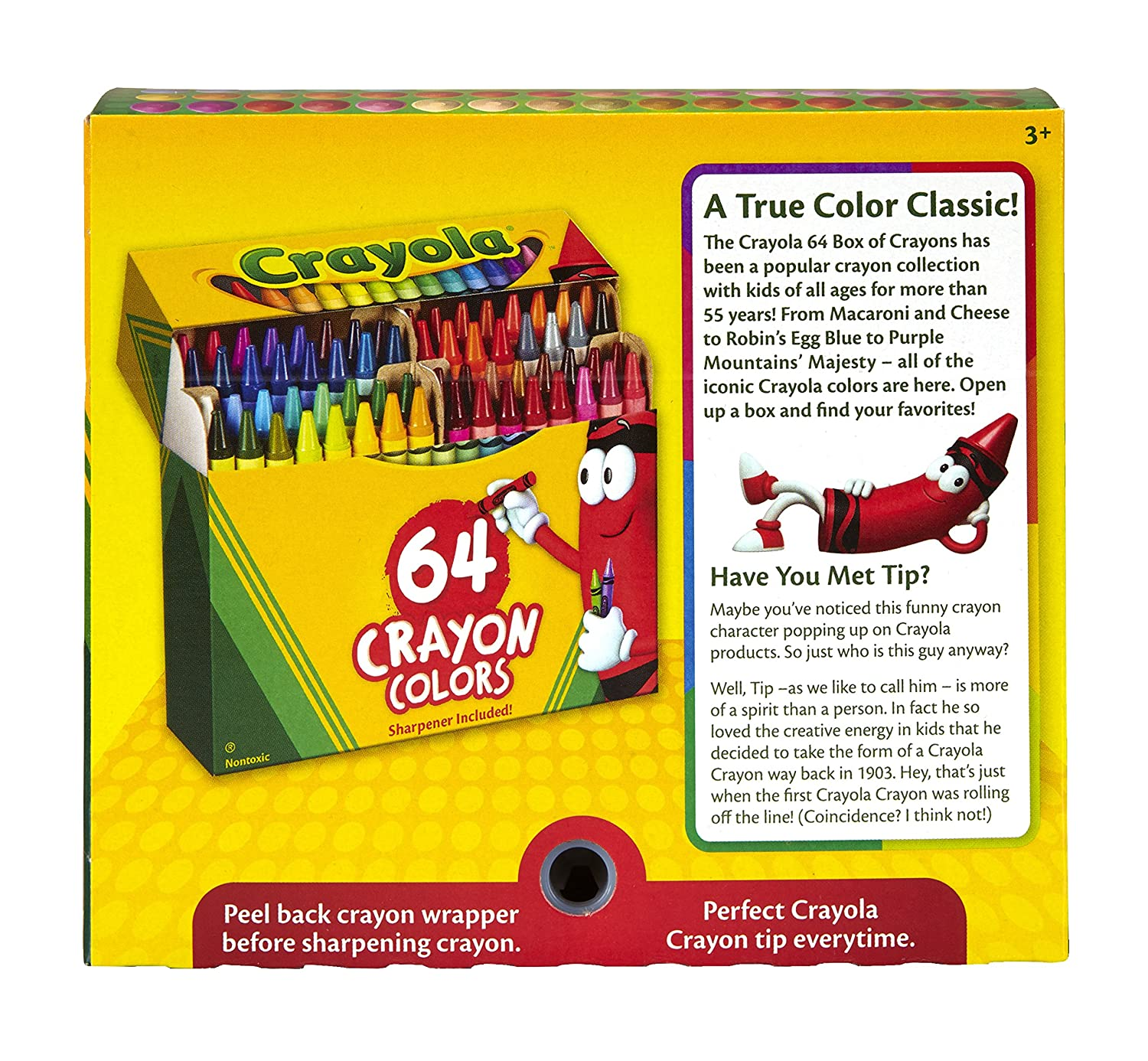 buy crayola crayons 64 count multi color online at low prices in