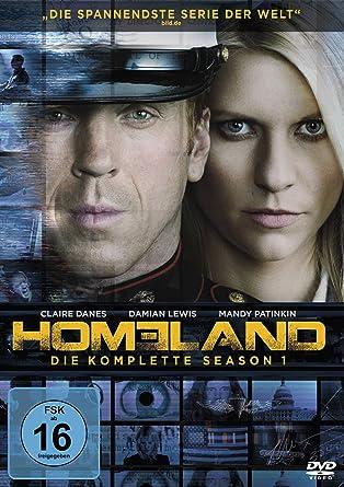 Homeland Die Komplette Season 1 4 Dvds Amazonde Claire Danes