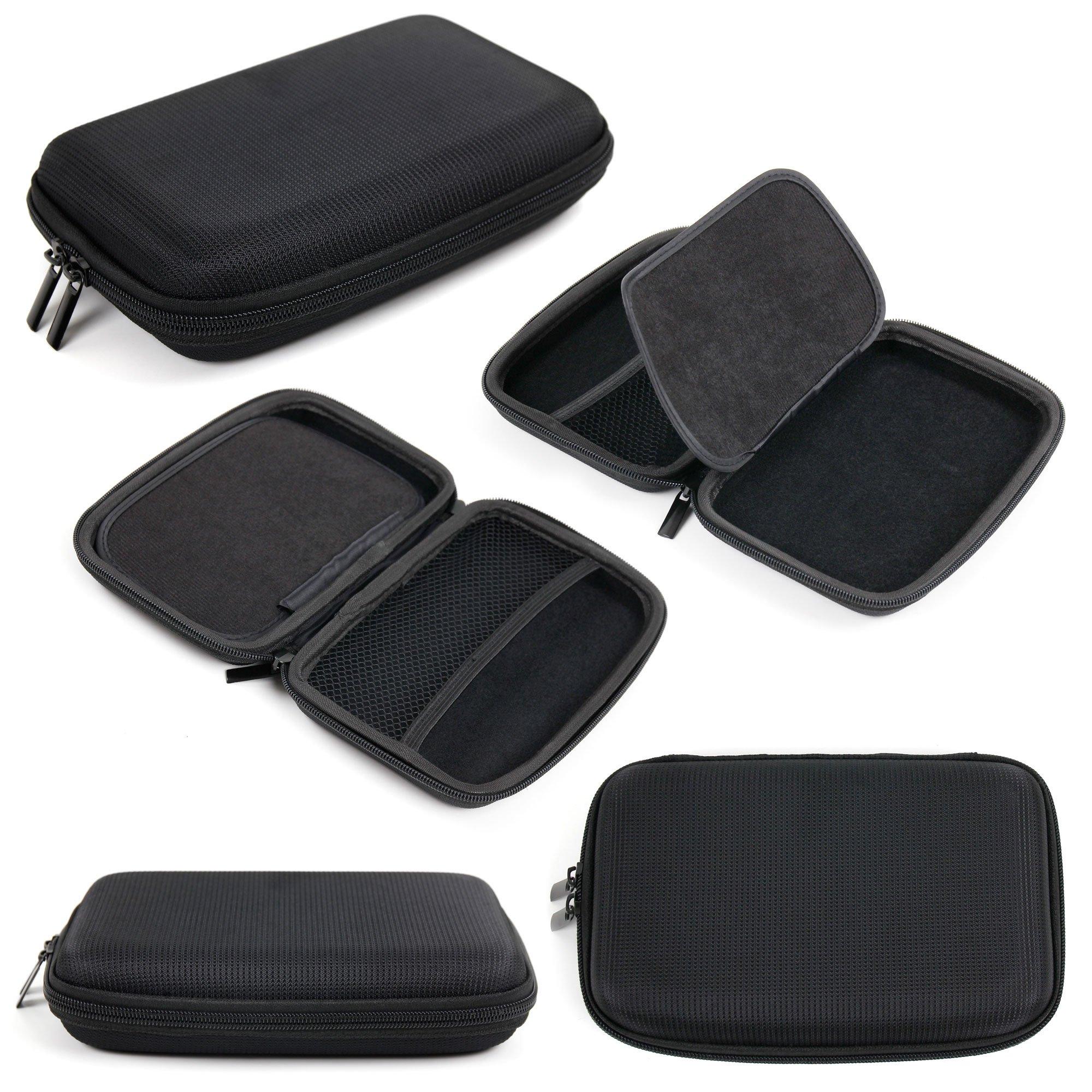 DURAGADGET Hard EVA Protective Case in Black for The Texas Instruments BA II Plus Professional Graphics Calculator