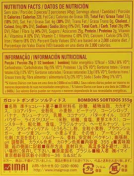 Amazon.com : Garoto Brazilian Assorted Bonbons Box 12.52 Oz : Grocery & Gourmet Food