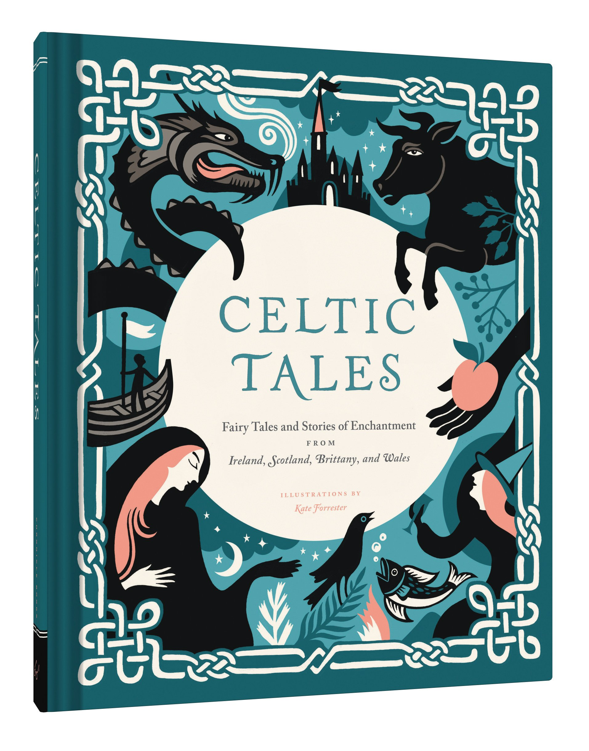 amazoncom celtic tales fairy tales and stories of enchantment from ireland scotland brittany and wales 9781452151755 kate forrester books