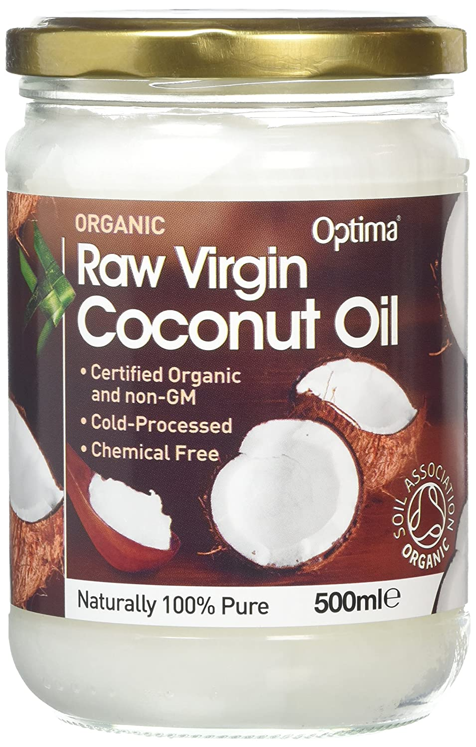 (Pack Of 2) - Raw Virgin Coconut Oil | OPTIMA HEALTH