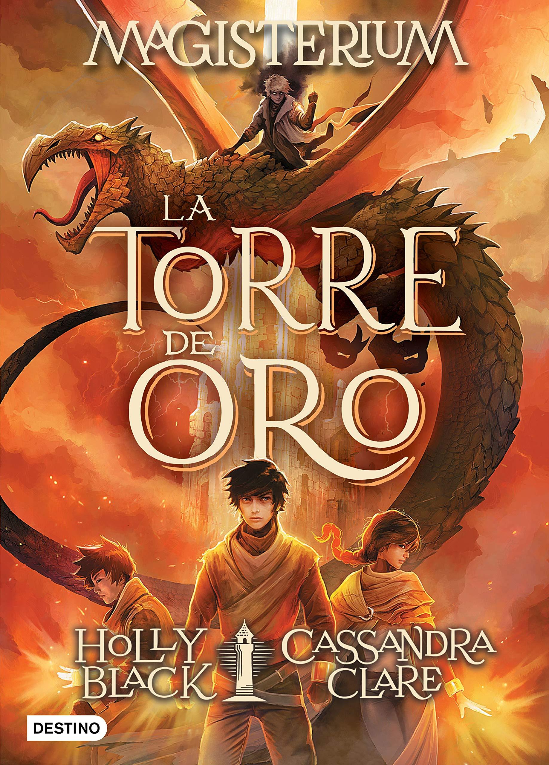 La torre de oro: 8 (Isla del Tiempo): Amazon.es: Cassandra Clare, Holly  Black, Patricia Nunes Martínez: Libros