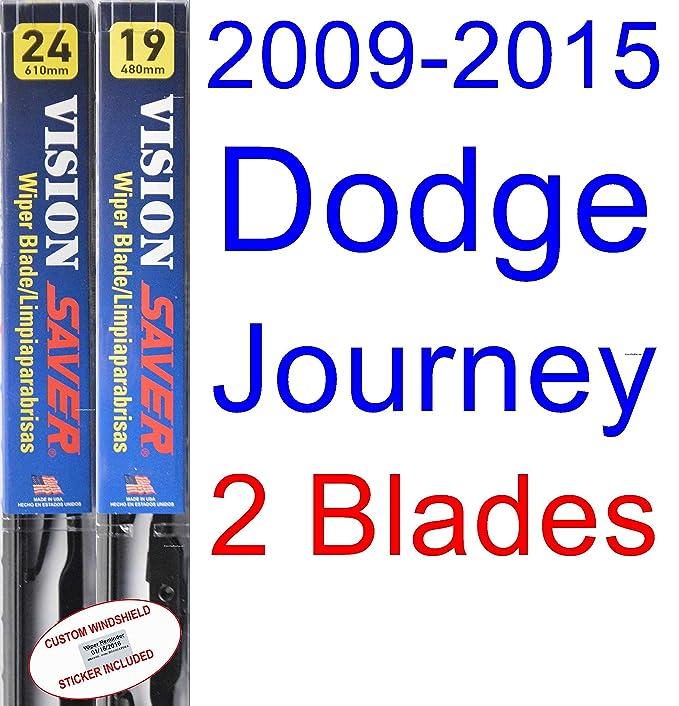 Amazon.com: 2009-2015 Dodge Journey Replacement Wiper Blade Set/Kit (Set of 3 Blades) (Saver Automotive Products-Vision Saver) (2010,2011,2012,2013,2014): ...