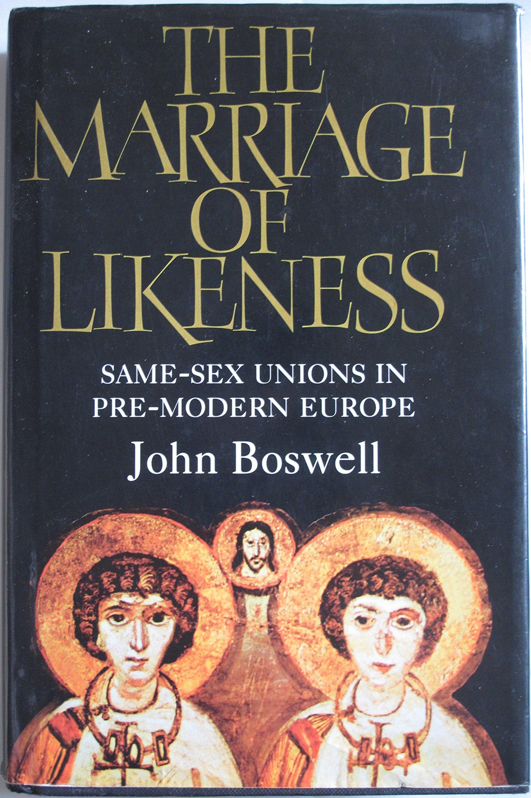 Same sex marriage in pre modern europe