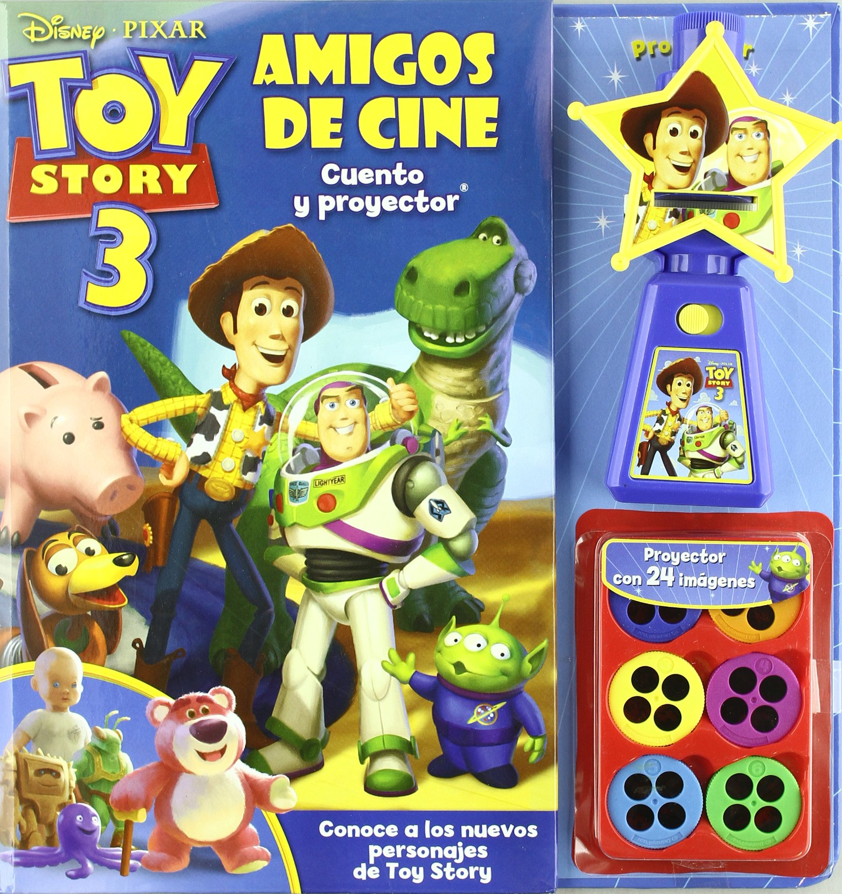 Toy story 3 - amigos de cine +proyector Pixar disney: Amazon.es ...