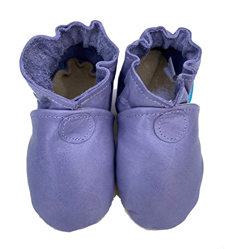 BASIC MOCS (lavender) Handmade in USA