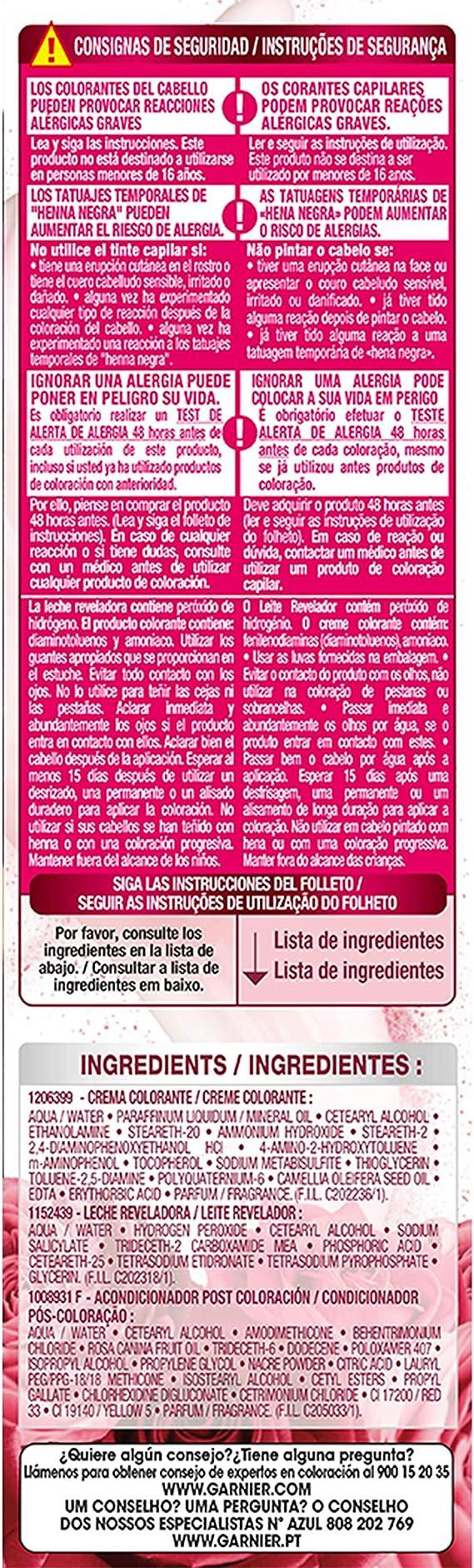 Garnier Color Sensation - Tinte Permanente Violín 3.16 ...